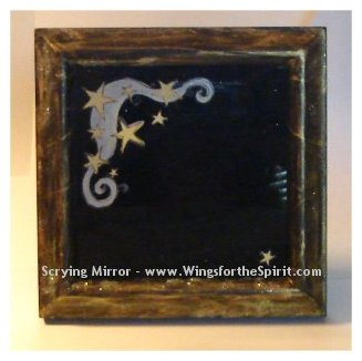 Night Sky Scrying Mirror